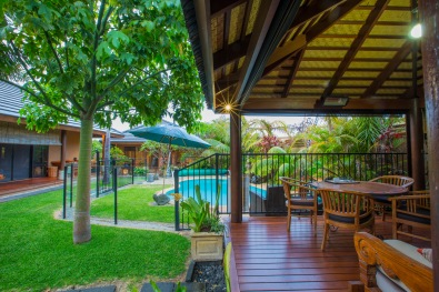Bali at AvalonPool hut3