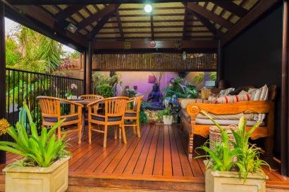 Bali at AvalonPool hut4